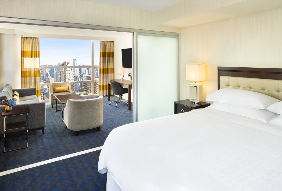 Canada hotel offers starwood hotels of canada for Hotels that offer 2 bedroom suites