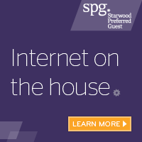 Internet on the house with SPG